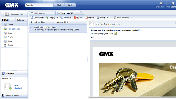 gmx mail review